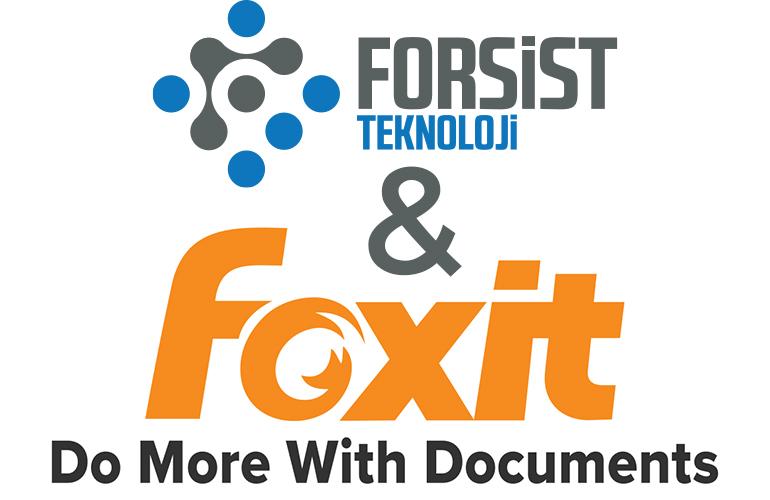 Foxit Türkiye Distribütörü Forsist Teknoloji